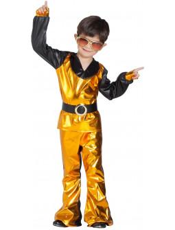 Disfraz Disco Dorado para Niño