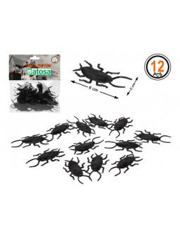 Pack de Cucarachas para Decoración de Halloween