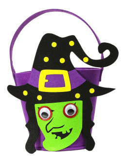 Cesta de Bruja de Halloween Infantil