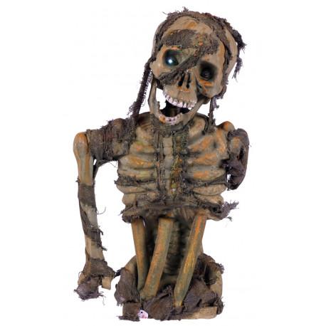 Esqueleto Podrido con Luz para Decoración