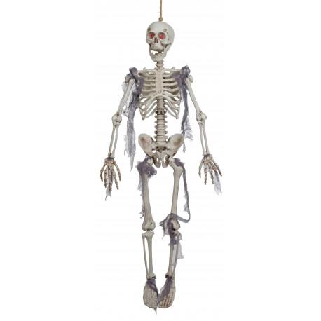 Esqueleto Colgado con Luz para Decoración