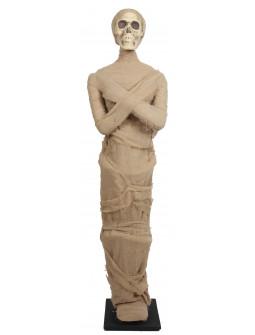 Momia Tamaño Real con Peana para Decoración