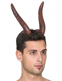 Diadema con Cuernos de Demonio