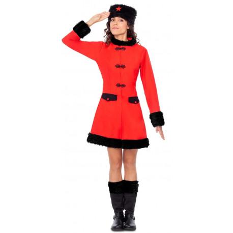 Disfraz de Rusa Soviética para Mujer