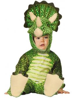 Disfraz de Dinosaurio Triceratops para Bebé