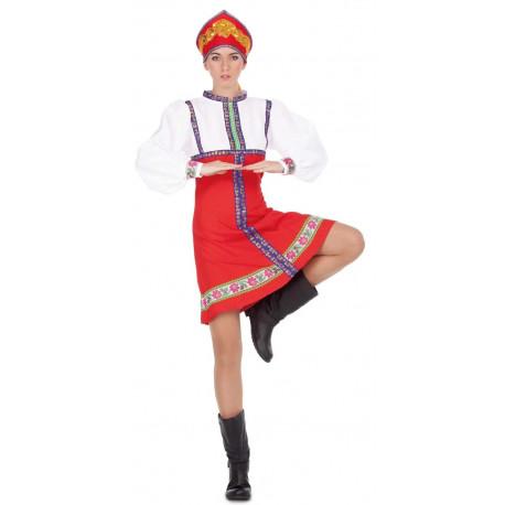 Disfraz de Rusa Tradicional para Mujer