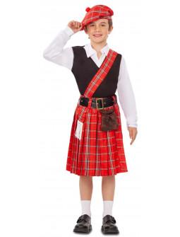 Disfraz de Escocés para Niño