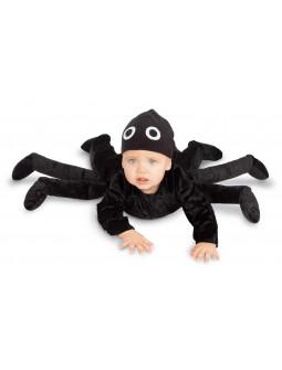 Disfraz de Araña Negra para Bebé