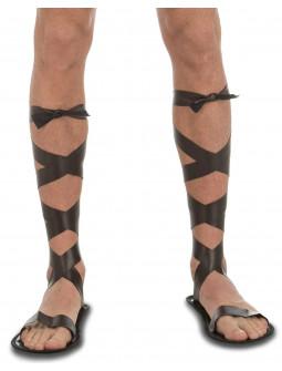 Sandalias de Romano Efecto Piel
