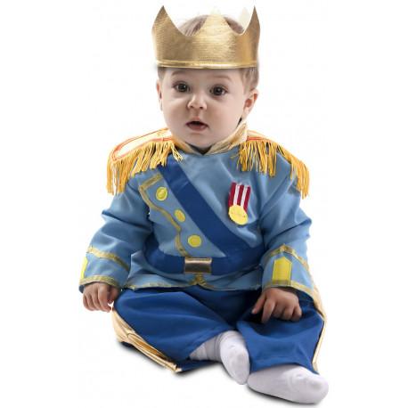 Disfraz de Príncipe Azul para Bebé