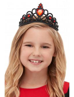 Corona de Reina de Corazones Negra
