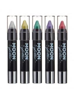 Lapices con Purpurina Holográfica en Colores