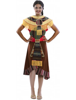 Disfraz de Azteca Tribu para Mujer