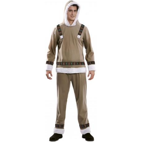 Disfraz de Esquimal Siberiano para Hombre