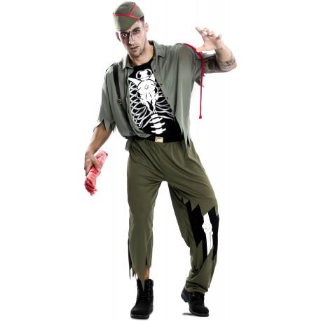 Disfraz de Legionario Zombie para Adulto