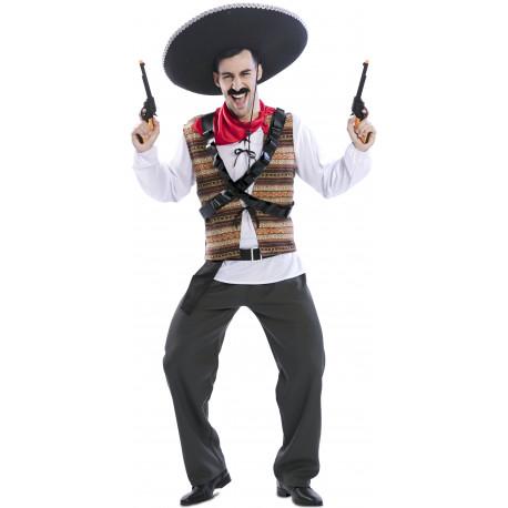Disfraz de Pancho Villa para Adulto