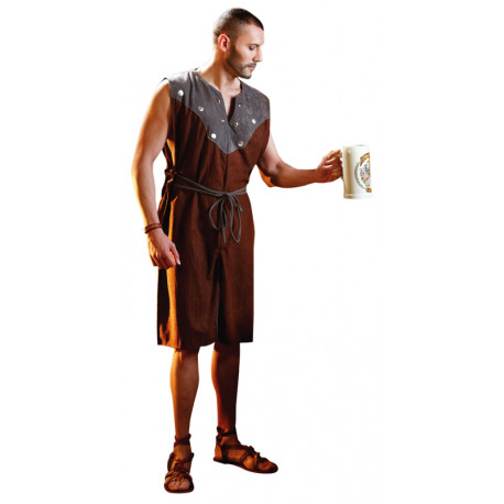 Disfraz de Campesino del Medievo para Hombre