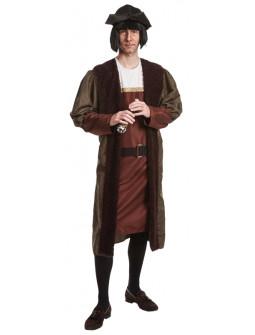 Disfraz de Descubridor Cristóbal Colón para Adulto