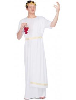 Disfraz de Noble Romano Blanco para Hombre