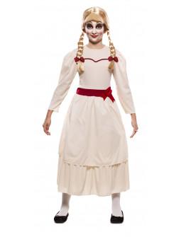 Disfraz de Annabelle Muñeca Poseída para Niña