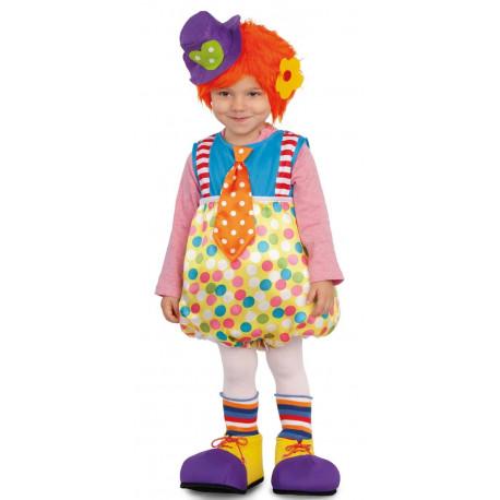 Disfraz de Payaso con Zapatos para Bebé
