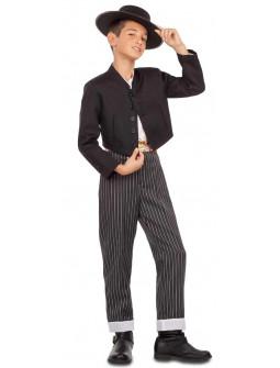 Disfraz de Cordobés con Chaqueta Negra para Niño