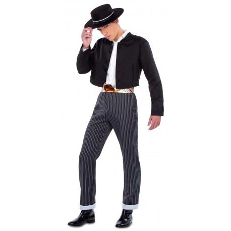 Disfraz de Cordobés con Chaqueta Negra para Hombre