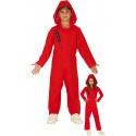 Disfraz de Mono Rojo con Capucha Infantil
