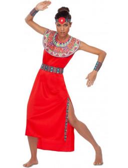 Disfraz de Masái Africana para Mujer