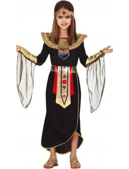 Disfraz de Cleopatra Negro para Niña