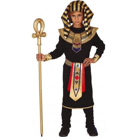 Disfraz de Faraón Negro para Niño