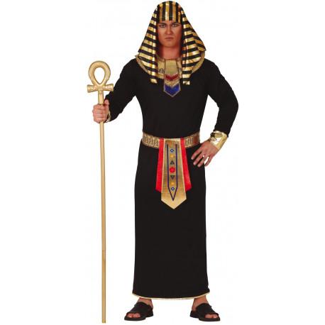 Disfraz de Faraón Negro para Adulto