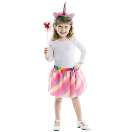 Kit de Unicornio Multicolor Infantil