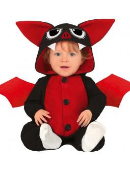 Disfraz de Murciélago Rojo para Bebé
