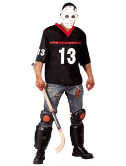 Disfraz de Jugador Hockey Asesino para Hombre