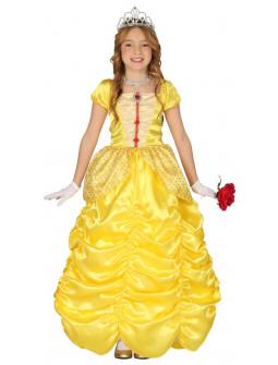 Disfraz de Princesa Bella Amarillo para Niña