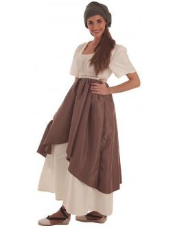Disfraz de Artesana Medieval para Mujer