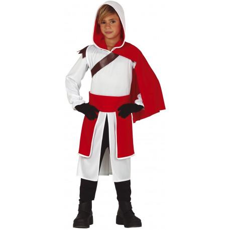 Disfraz de Assassin's Creed Blanco Infantil