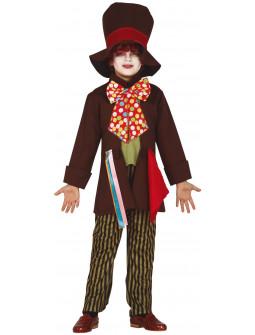 Disfraz de Sombrerero Loco Clásico para Niño