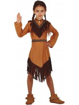 Disfraz de Indio Apache para Niña