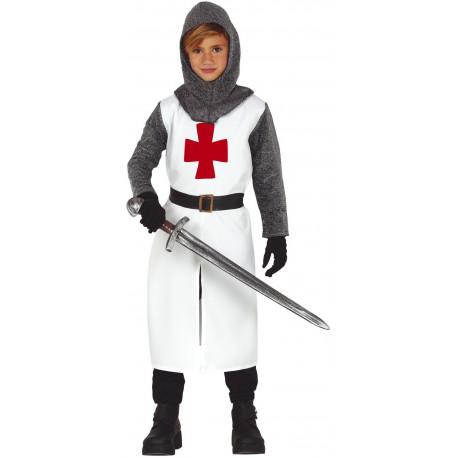Disfraz de Caballero Templario para Niño