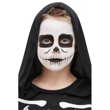 Kit de Maquillaje de Esqueleto Infantil