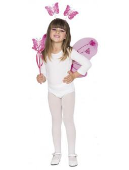 Kit de Mariposa Rosa Infantil