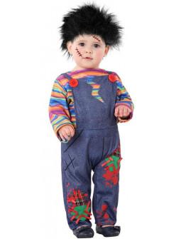 Disfraz de Chucky Muñeco Diabólico para Bebé