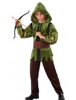 Disfraz de Arquero Medieval del Bosque para Niño