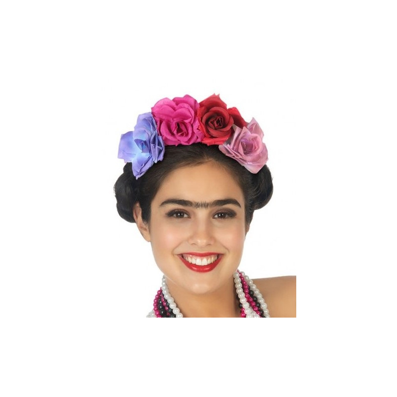 Condición previa mensaje Horizontal  Diadema de Flores de Frida Kahlo   Comprar Online