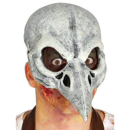 Media Máscara de Cráneo de Esqueleto de Pájaro