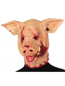 Máscara de Cerdo Terrorífico de Látex