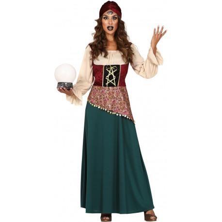 Disfraz de Zíngara Adivina para Mujer