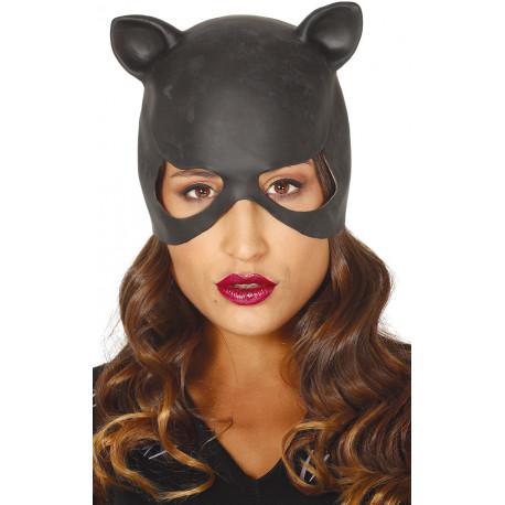Máscara de Mujer Gata de Látex